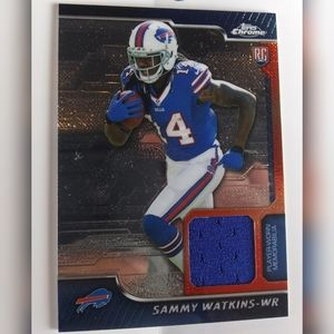 Sammy Watkins Rookie Card Exclusive!